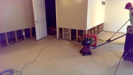 Mold Job - True Clean Restoration