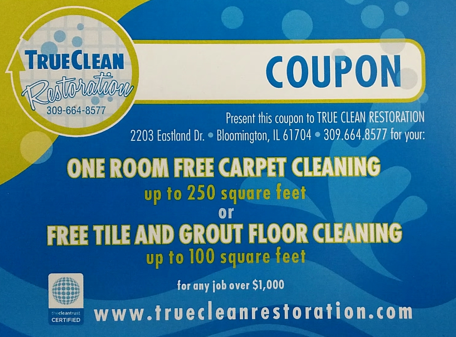 True Clean Coupon #3
