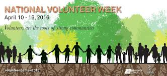 What Will You Do For National Volunteer Appreciation Month?