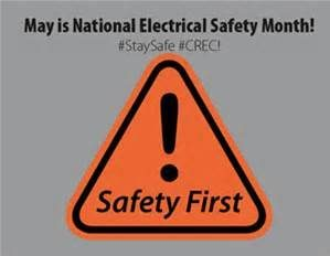 May is National Electrical Fire Safety Month.  Protect yourself and your family.